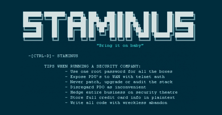 Anti-DDoS Firm Staminus HACKED..!!!