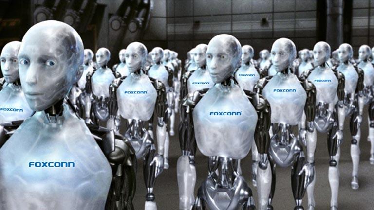 FOXCONN şirkətinin 60 minlik işçisi – ROBOTLAR
